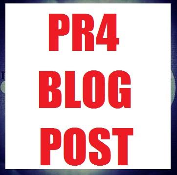 Hand-written 300 word PR4 blog post
