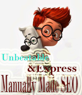 Unbeatable And Express Manually Made SEO Offer