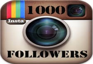 Add 1,000 High quality Instagram followers or likes