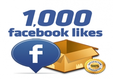 I will provide 1000+ Real Facebook Fan Page Likes