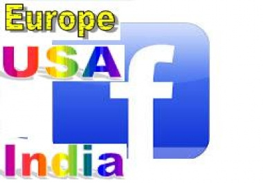 add 155   +Targeted Facebook Likes  USA   Europe   Indian  in your page, 100  Real