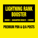 LIGHTNING RANK BOOSTER v1.0 tested for 4 months,  So Get RESULTS or REFUND