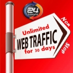 UNLIMITED HUMAN TRAFFIC BY Google Twitter Youtube and many more to web site for 30 days