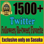 give you 1500 TW Followers