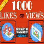 Get Instant 1000 Likes Or 1000 Views In Your Posts