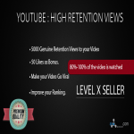 get you 5000 High Retention Views to your Youtube Video