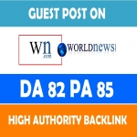 Will write and publish guest post on WN with backlink to your website