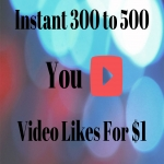 300+ to 350+ YT Video Lik-es - High Quality