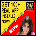 I will gaurantee you 100 high retention REAL android app installs