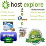 Unlimited Web hosting with Unlimited domains cPanel/Softaculous
