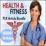15000 Health And Fitness Plr Article bundle