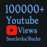 Add 100,000+ High Quality YouTube V iews