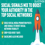 1550 PR9 Social Signals To Boost Your Authority In The Top Social Networks - Promotion to 1 MILLION people - Boosts SERP,  SEO and Traffic