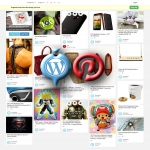 Pinterest Clone WordPress Theme - Professional Photo Gallery