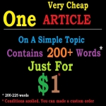 Very Cheap Article For You