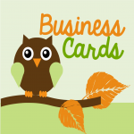 Create Two Eye Catching Business Cards
