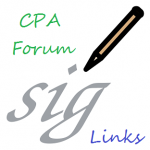 Make Money Online CPA Forum Signature Link