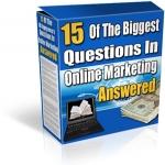 Top 15 Marketing FAQ