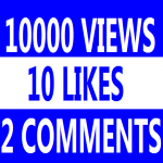 10,000+ Super Fast High Quality you tube views 10+ likes 3 comments