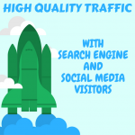 UNLIMITED genuine real Website TRAFFIC for 5 months with Search Engine and Social Media Visitors