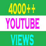 4000 YOU TUBE VIDEO VIEWS 50 LIKES PROMOTION SERVICES