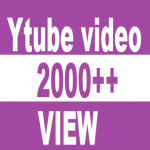2500 + VIDEO VIEW HQ NON DROOP LIFETIME GUARANTY RANDOM RETENTION PROMOTION SERVICES