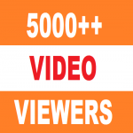5000 HQ High Retention Real Human Yu+Tu Viewers