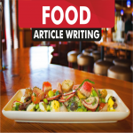 article writing for FOOD blog