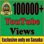 100,000 Splitable Safe Quality, Life Time Gurantee You+Tube Video Views