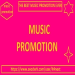 Music Promotion for 3M PLAYS + 300 LIKES + 300 REPOSTS + 300 COMMENTS