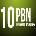 10 Manual HIGH TF CF DA PA 20+ to 10 Dofollow PBN Backlinks