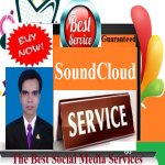 Add 50,000 good quality or 40,000 best quality or 10,000 HQ and HR non-drop SoundCloud plays with 25 HQ Likes