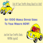 1000 Mobile Device Traffic USA Canada UK Visitors