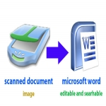 I Will Convert Scanned Documents To Editable MS Word