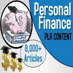 8000 Personal Finances PLR Articles bundle