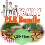 7000 Family-Related PLR Articles bundle