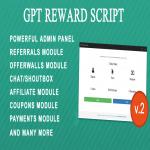 GPT Rewards PHP Script