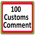 High Quality 100 Custom Comment and 50 likes add extra fast work delivery