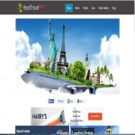 To start an online travel search engine website