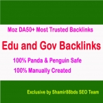 Manual 16 Edu and Gov Moz DA50+ Most Trusted Backlinks To Boost Ranking