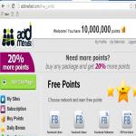 2000 Addmefast points