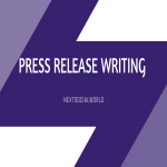 Press Release Writing Services