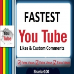 Fast 280+ Y-tube L. ikes & 5 high quality custom com. ments instant delivery
