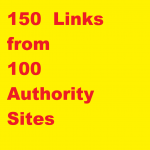 150+ High Authority links,  DA 45 to 99 from 100 domains,  complete seo link building