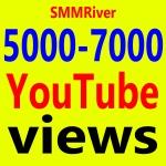 Fast 5000 To 7000 Views High Retention 99 Ad-sense Safe & Non Drop