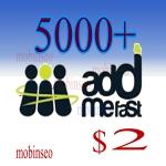 5000 addmefast point