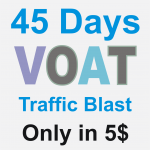 45 days Voat UNLIMITED Traffic Blast for your website