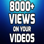 SUPER INSTANT 8000+ HQ WorldWide VIEWS FOR SOCIAL MEDIA POST