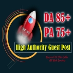 High Authority Backlink Guest Post DA85+ PA75+ Dofollow Links