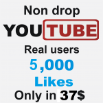 Add 5000 Real Non Drop YouTube likes